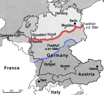 Map Of Germany Late 1800s.Deutsch Im Blick Kapitel Sieben Aussprache